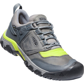 Keen Ridge Flex WP Shoes Men, steel grey/evening primrose
